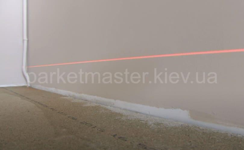 измерение плоскости лазерным нивелиром