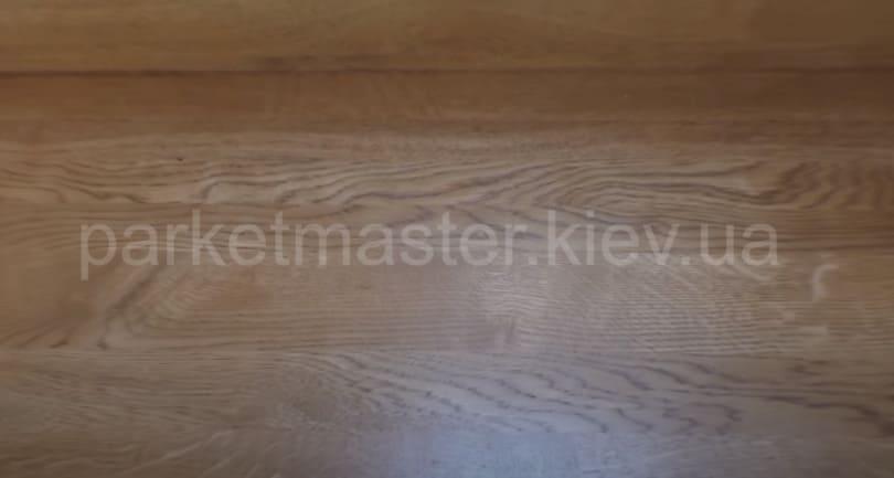 деревянная ступень после реставрации
