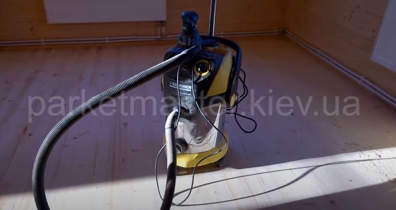 профессиональный пылесос для циклевки без пыли