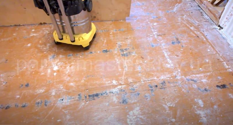 деревянный пол под укладку массивной доски