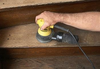 восстановление деревянных ступеней